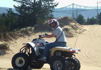 ATV riding just north of Coos Bay