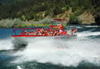 jet boat on the Rogue River