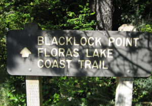 Blacklock Point Floras Lake Hike