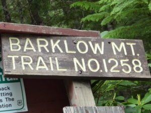 Barklow Mountain Trail