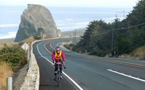 Cycling the Oregon and California coasts