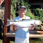 Salmon fishing on the coastal rivers