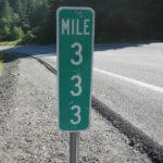 333 trail US 101 marker