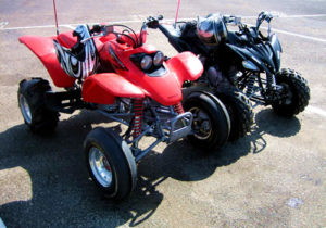 ATVs on the Oregon Dunes Recreation Area
