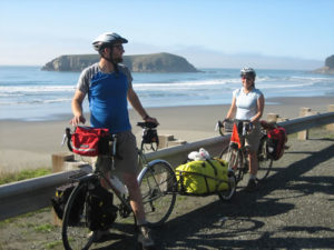 Cycling south on US Route 101