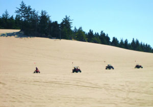 ATVs on the Oregon Dunes near Coos Bay