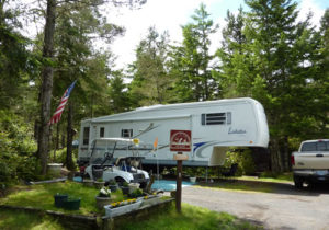 RV and tent camping