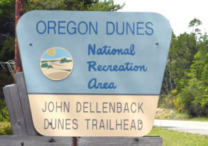 Hiking on the John Dellenback Dunes Trail