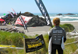 Wave Bash Wind Surfing Competition Held Annually Near Gold Beach at Pistol River