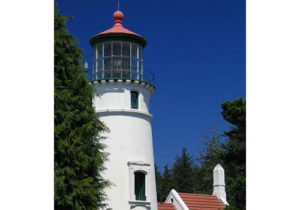 Umpqua Lighthouse south of Reedsport near Winchester Bay