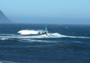 Surfing near Crescent City