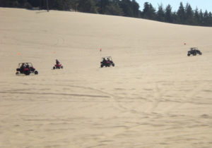 ATVs on the Oregon Dunes